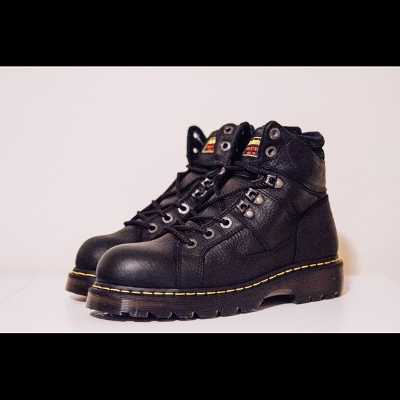 6530afbe9d0 Dr. Martens Ironbridge Steel Toe Industrial Shoes NWT
